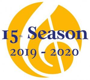 15th season logo
